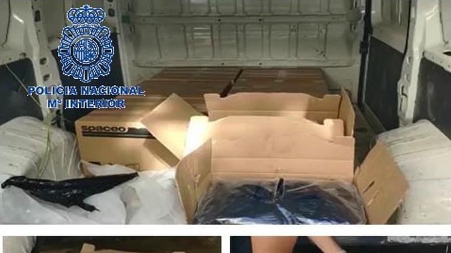 Interceptados 40 kilogramos de marihuana ocultos en matrioskas