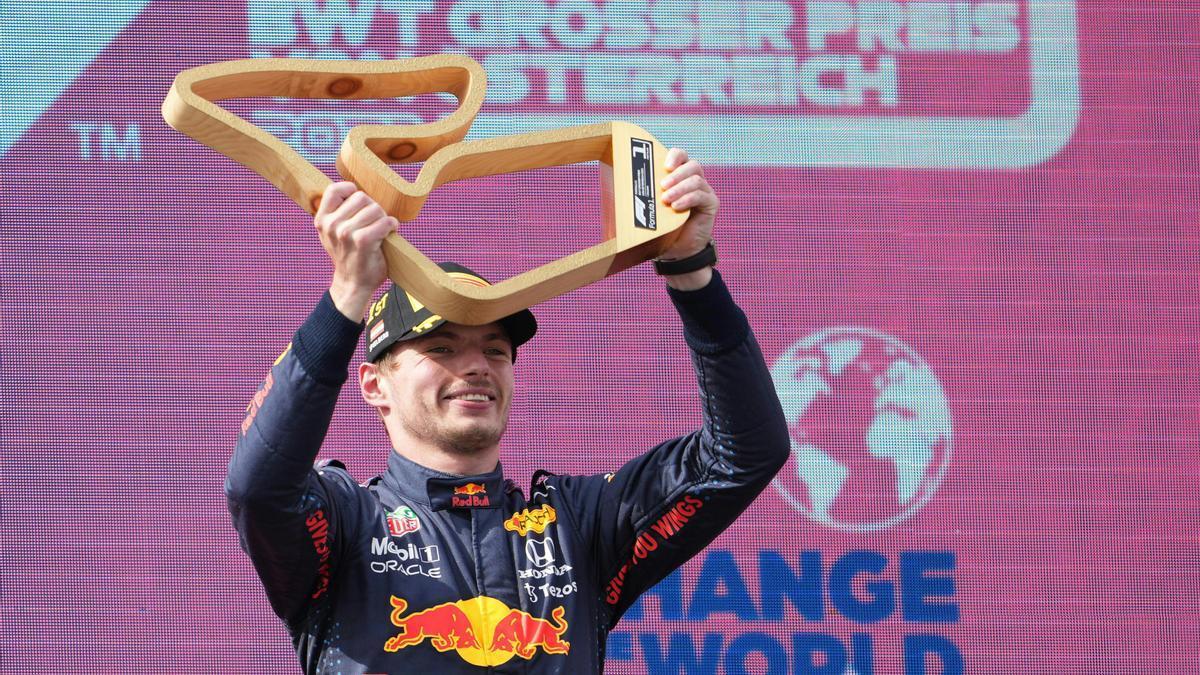 Verstappen vence en el GP de Austria.