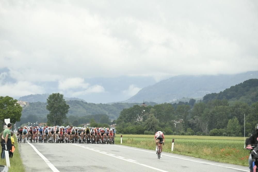 26 May 2019, Italy, Ivrea: Cyclists compete in ...