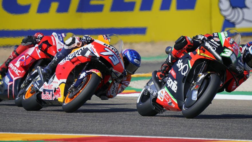 Horarios de MotoGP: Gran Premio de Teruel en el circuito de MotorLand Aragón