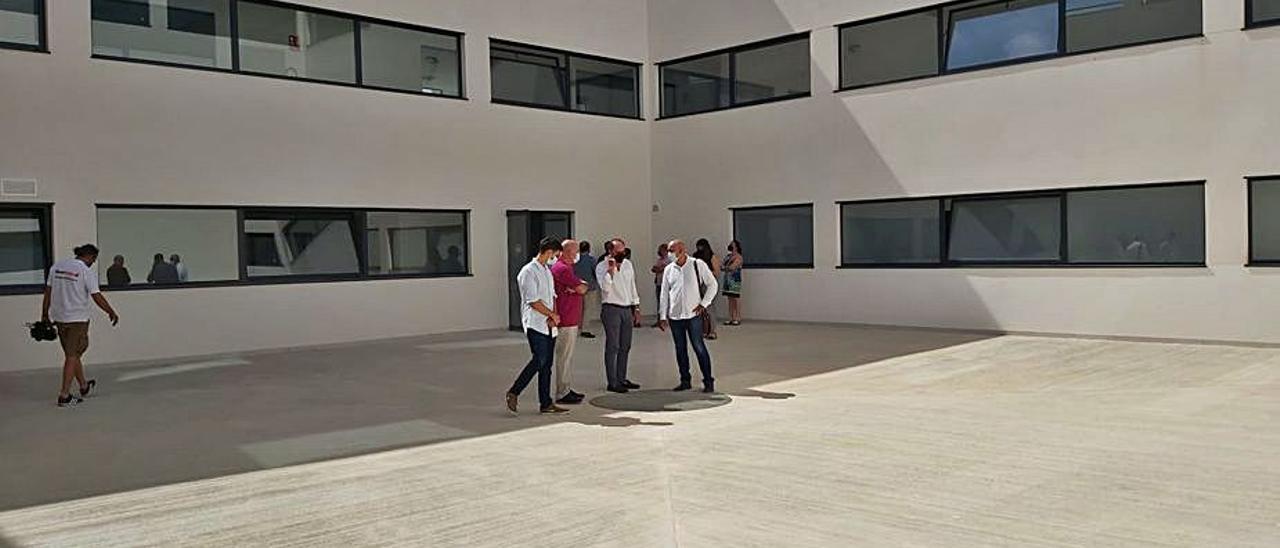 El Centro de Emergencias de Orihuela Costa cuyas obras han terminado. | INFORMACIÓN