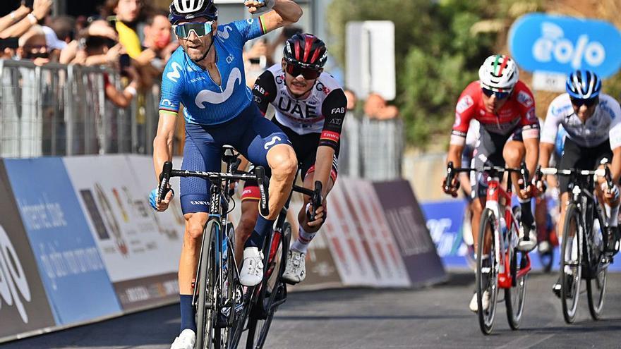 Alejandro Valverde vuelve a lo grande