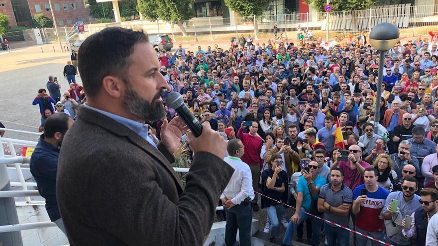 """Abascal en Murcia: """"Los Menas destruyen la tranquilidad de los barrios"""""""