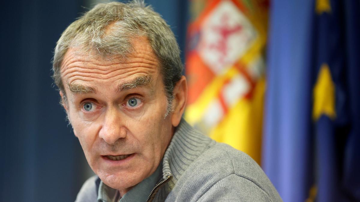El director del CAES, Fernando Simón.