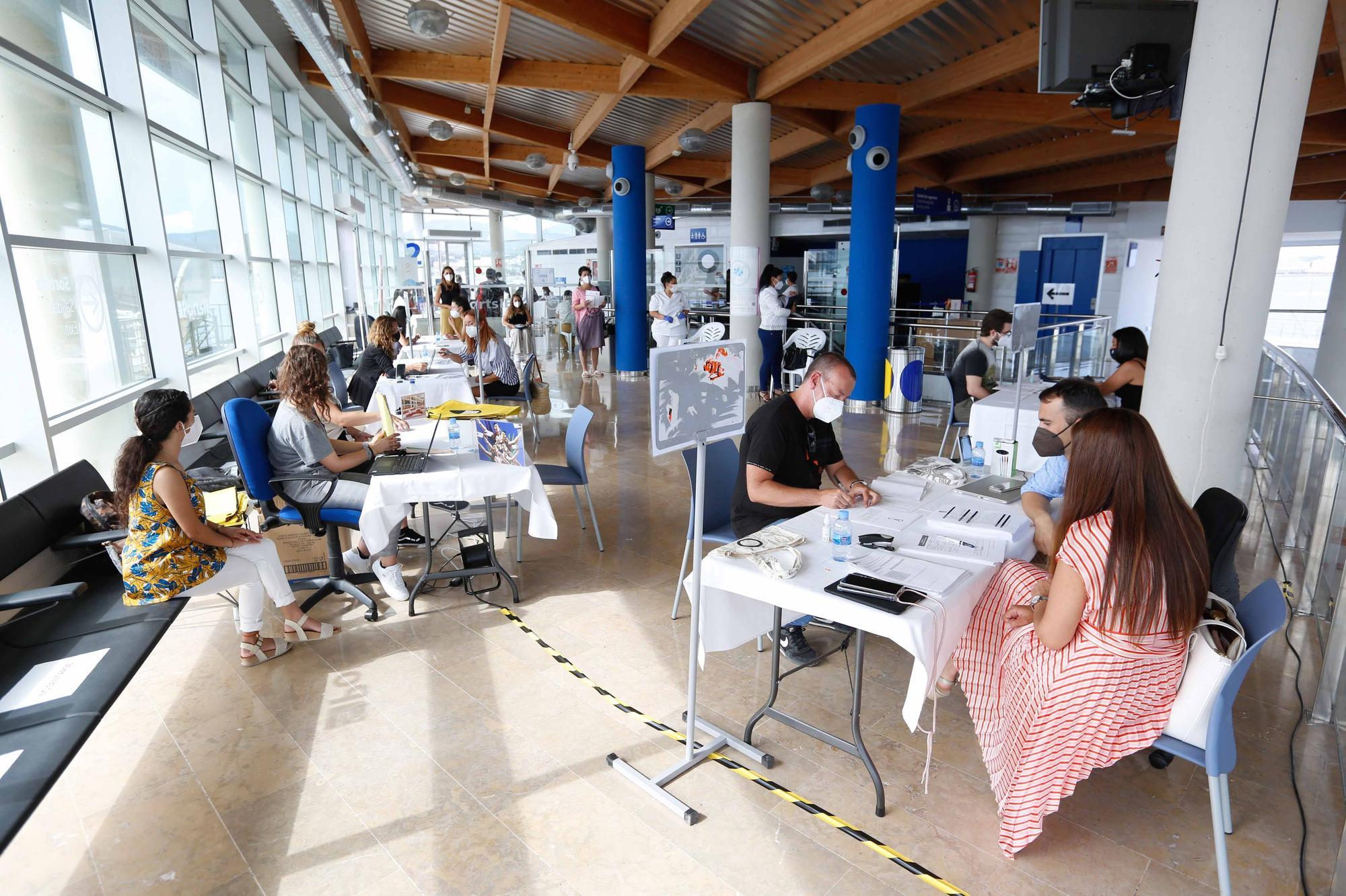 100 empleos para 240 personas en Sant Antoni