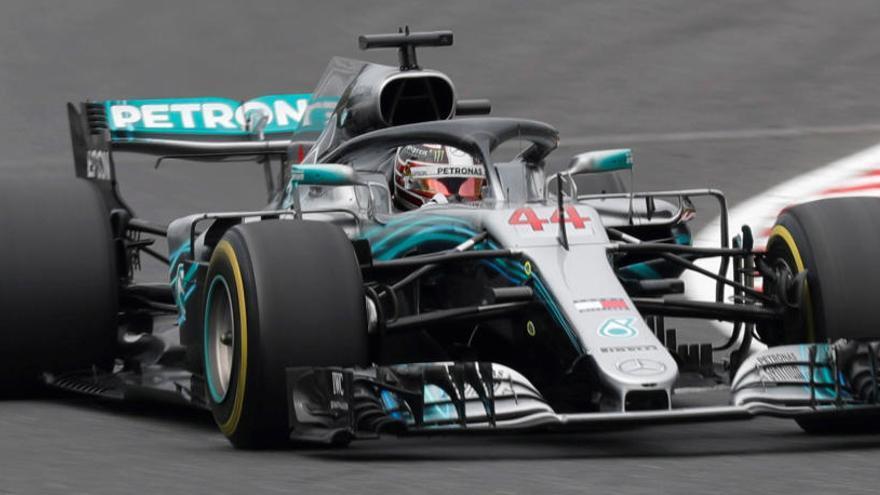 Hamilton, el más rápido en los libres en Suzuka