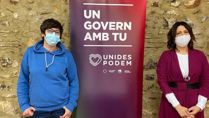 La dirección de Unides Podem insta al grupo parlamentario a nombrar síndica a Pilar Lima