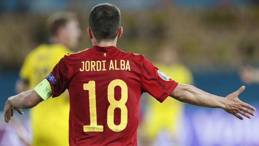 """Jordi Alba: """"Estoy orgulloso del trabajo de esta selección"""""""