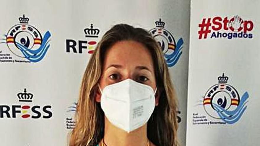 Dos platas para Lara López, del Sasa, en el Nacional absoluto