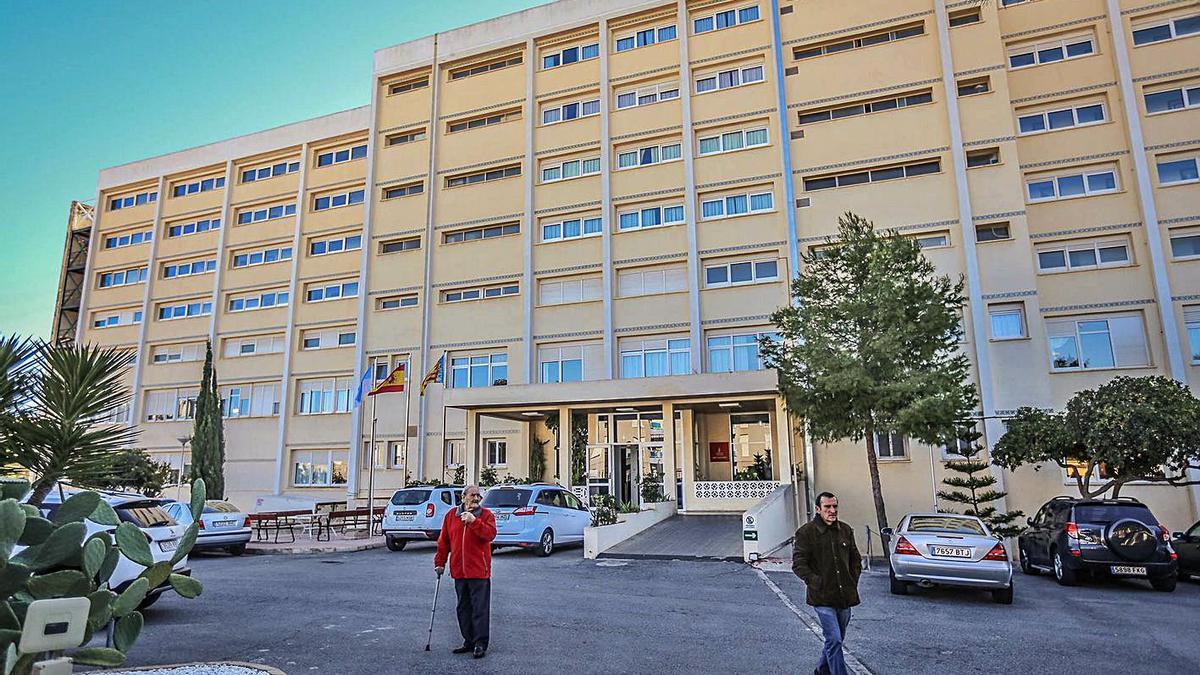 Imagen de archivo de la residencia pública de Torrevieja, que atiende a 200 ancianos.