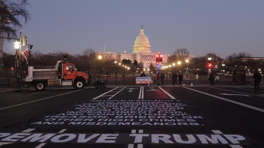 La Embajada en Washington recomienda cautela hasta la toma de posesión de Biden