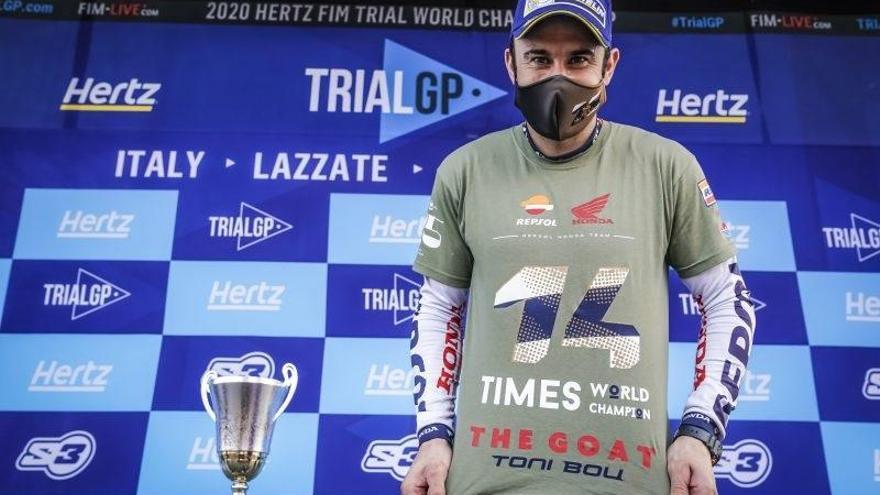 Toni Bou aconsegueix el seu 28è títol mundial de trial a Lazzate