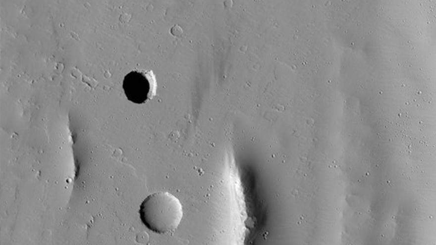 ¿Y si las cuevas de Marte pudieran servir de refugio para la vida?