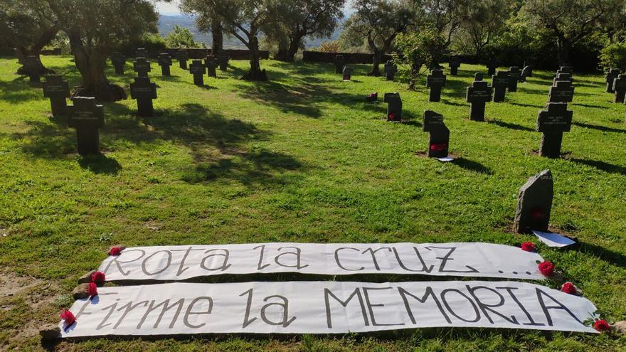 En defensa del cementerio alemán de Cuacos de Yuste