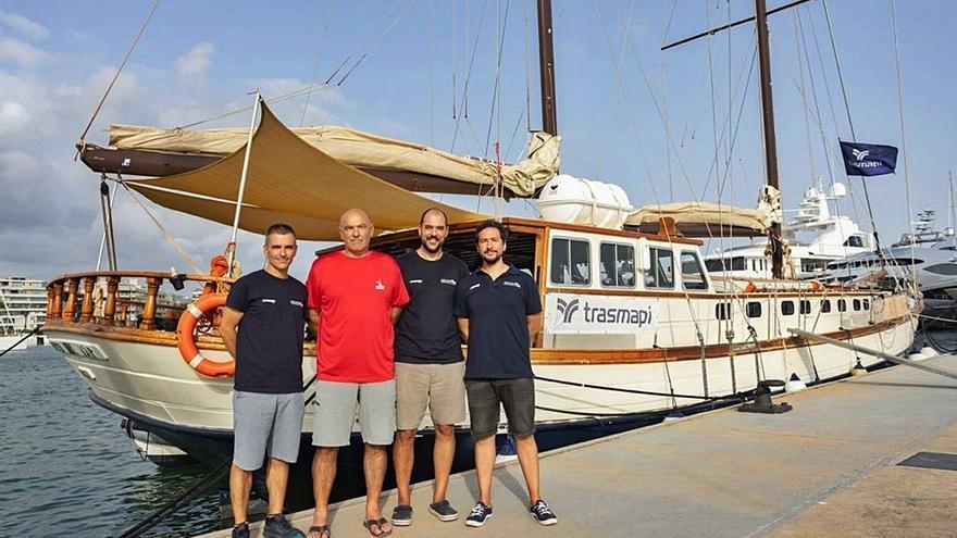 Formentera estudiará la carga de un barco romano sumergido a 77 metros