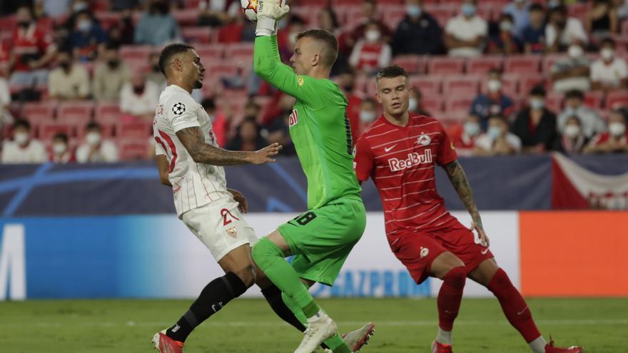 Empate agridulce del Sevilla ante el Salzburg