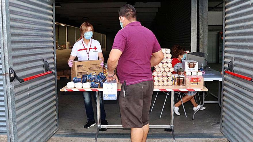 Alimentos para 337 familias necesitadas