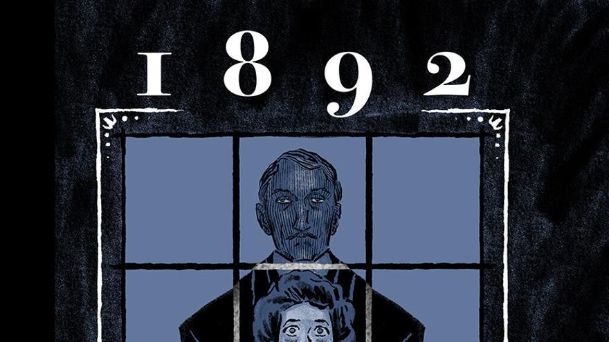 '1892', una novela gráfica de Antonio Becerra y Alberto Hernández sobre Galdós