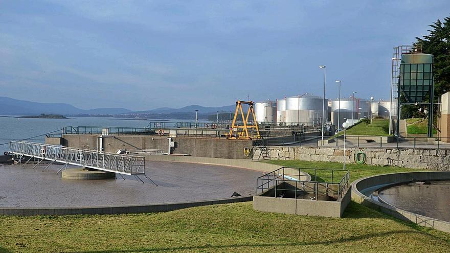 Augas de Galicia somete la ampliación de la Edar de Vilagarcía a impacto ambiental