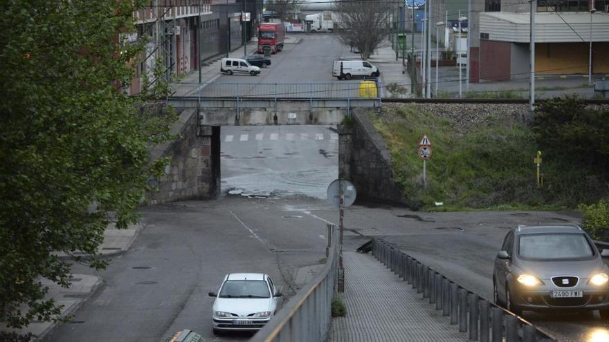 Problemas de circulación en El Reblinco por una inundación