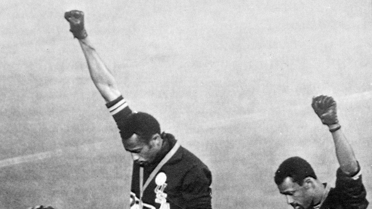 Héroes olímpicos: Black Power.