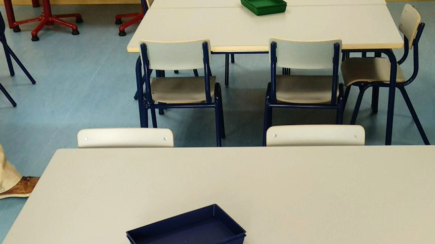 Las clases confinadas bajan por segunda semana consecutiva