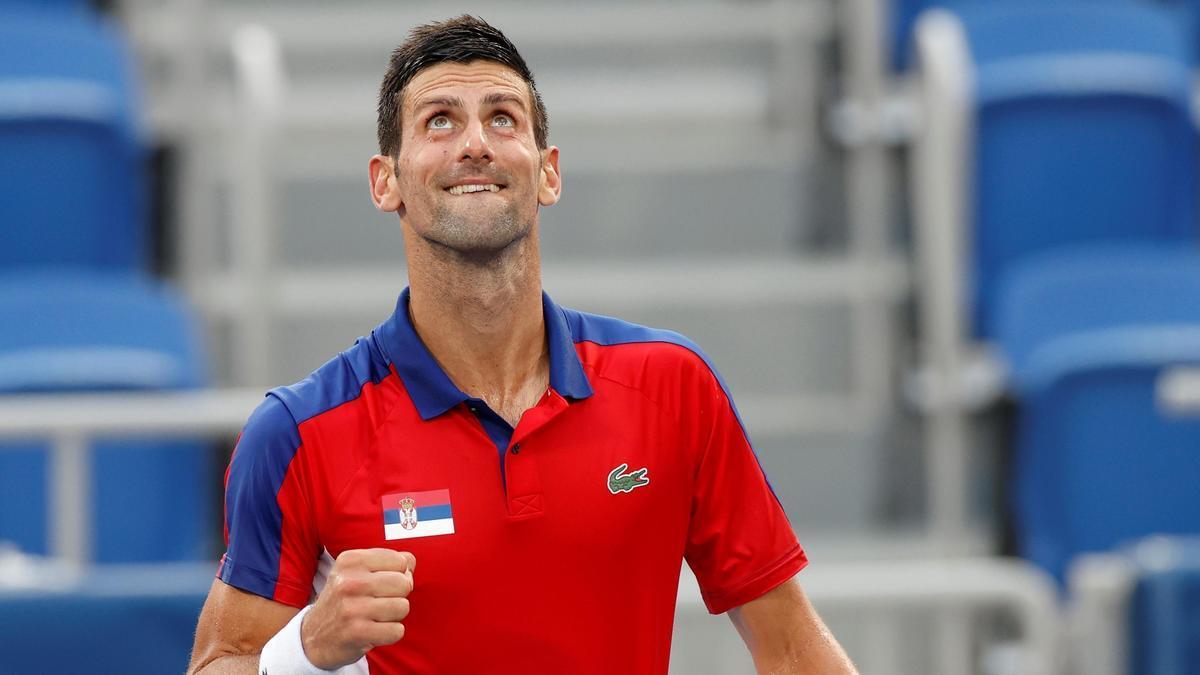 Djokovic se impuso con facilidad al japonés Kei Nishikori.