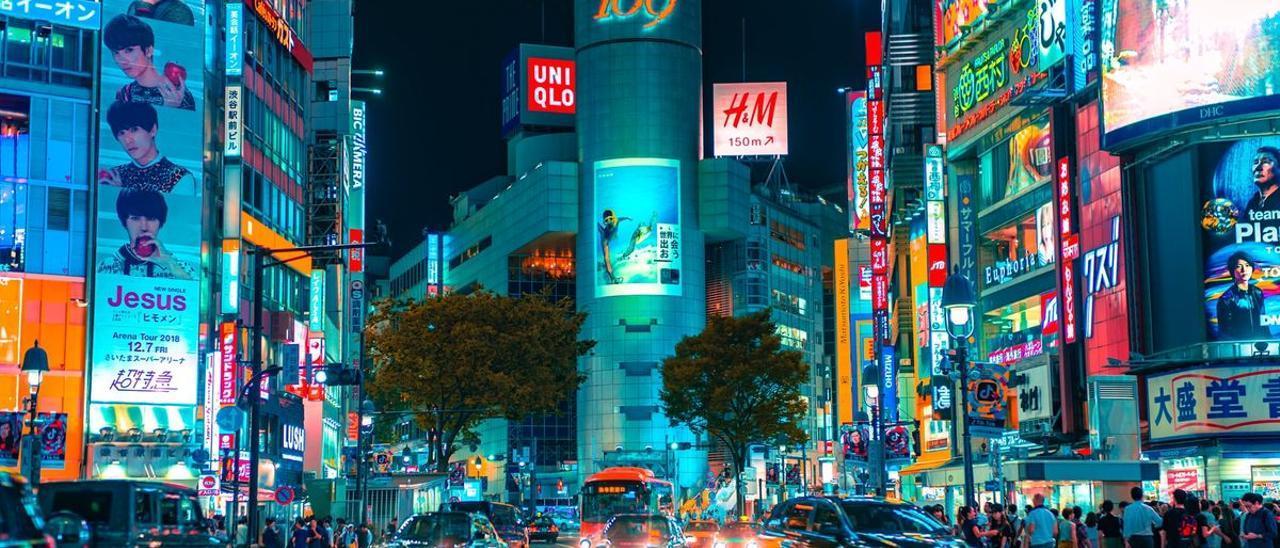 Cruce de Shibuya, en Tokio.