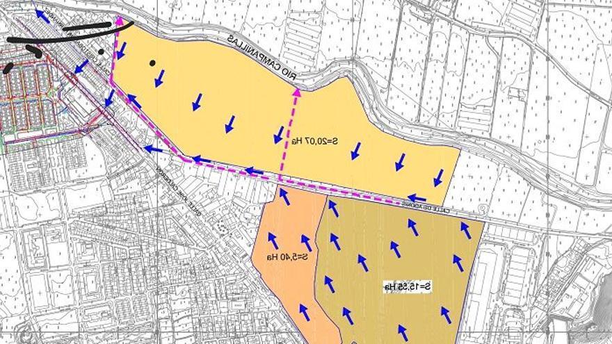 Urbanismo estudia mejorar el arroyo Pilones para reducir el riesgo de inundaciones