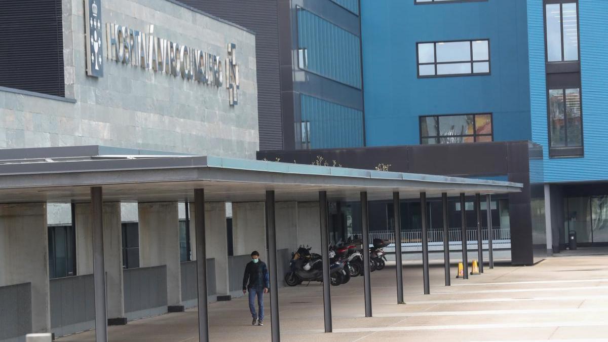 El hospital Álvaro Cunqueiro. // R. Grobas