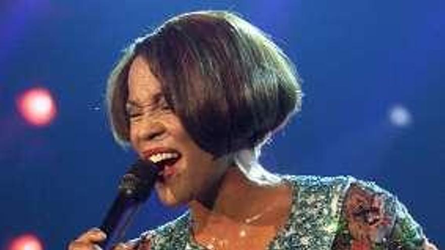 La vida de Whitney Houston, al cine