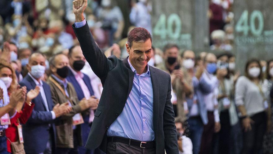 Sánchez llama a  seguir en la senda de las conquistas sociales frente al fracaso neoliberal