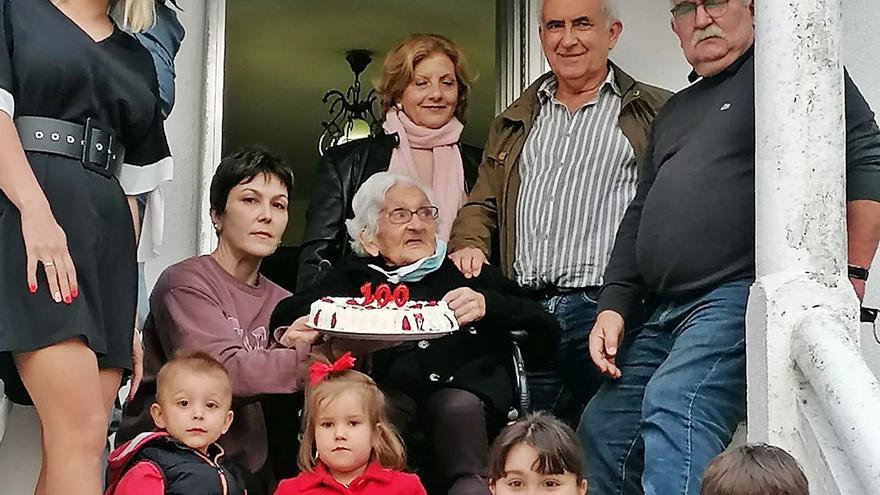 Leonor Fernández, un século de vida