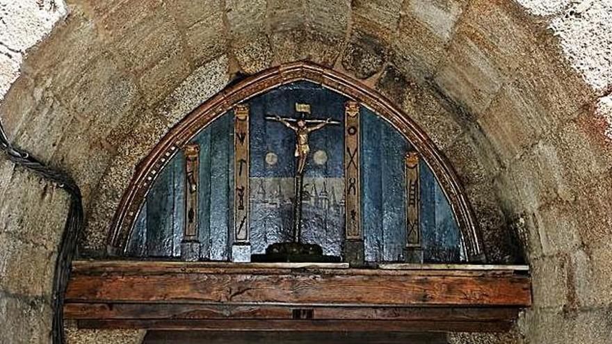 Porta do Cristo en Betanzos.    // L.O.