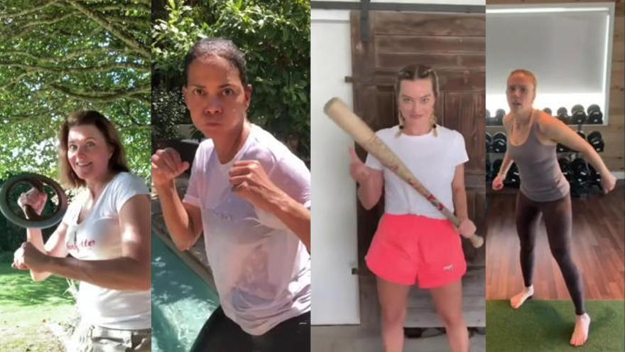 Boss Bitch Fight Challenge: el vídeo viral de famosas peleándose