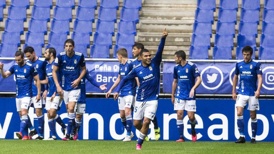 El Oviedo vence al Sabadell y encarrila la permanencia