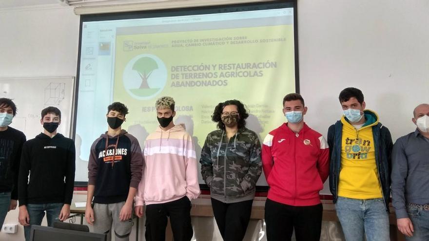 L'institut Penyagolosa lluita per 'Salvar el planeta'