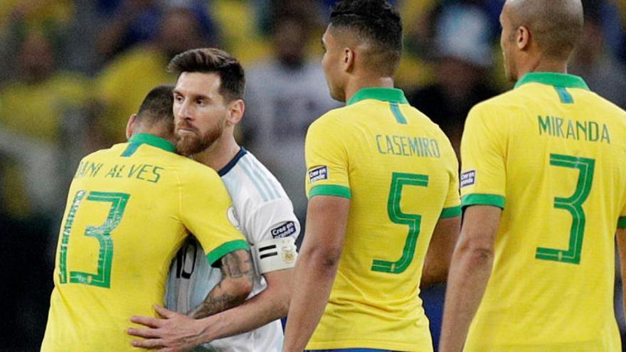 Brasil fulmina a Argentina y pasa a la final