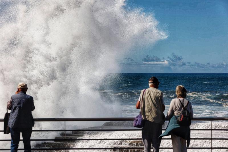 Oleaje en Tenerife