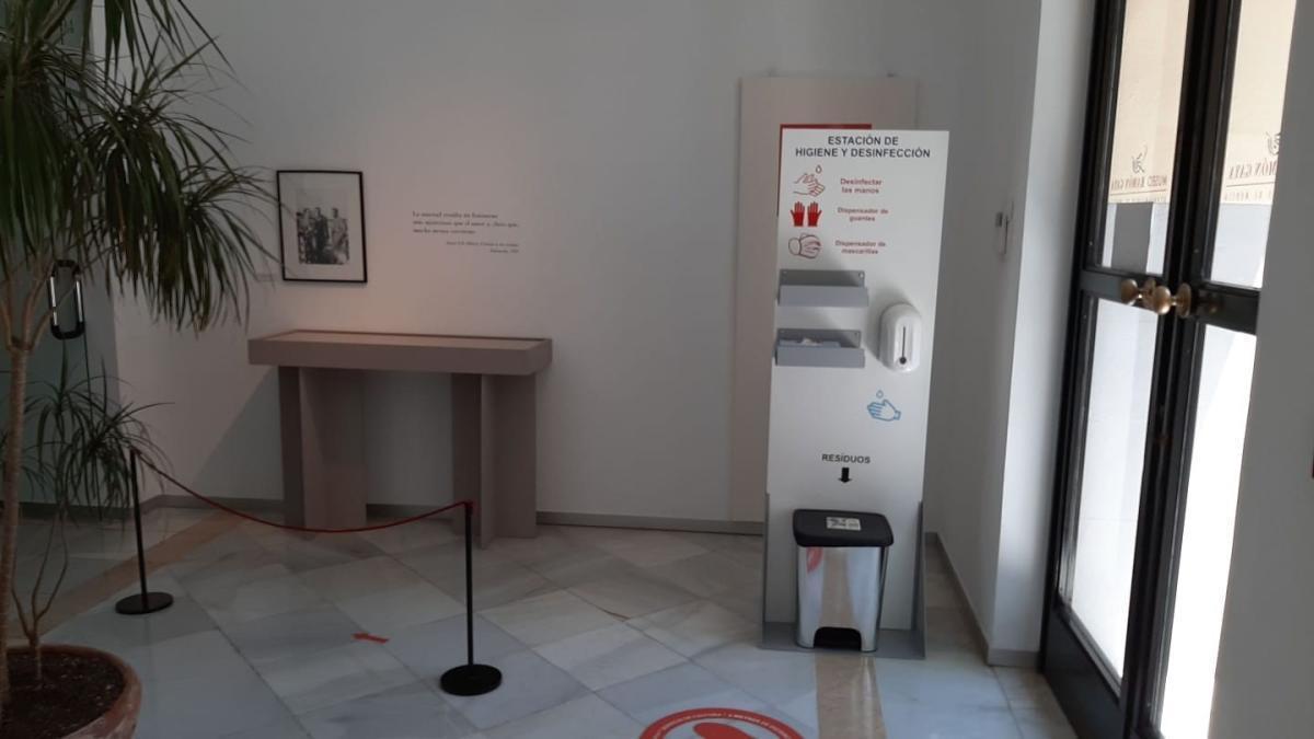 El museo Ramón Gaya.