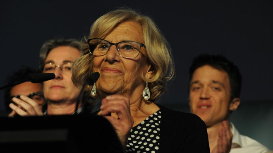 Les dretes desbanquen Manuela Carmena de l'alcaldia de Madrid