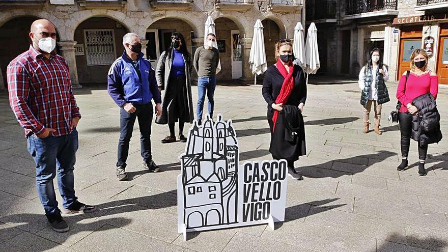 """Los locales del Casco Vello tienen nueva asociación: """"Queremos generar riqueza"""""""