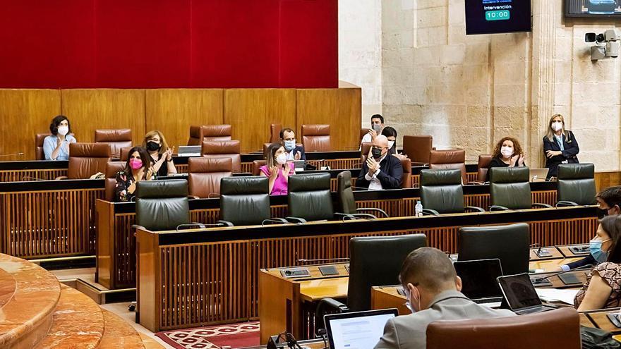 El Parlamento andaluz apruebas las ayudas de 1.109 millones para empresas y autónomos