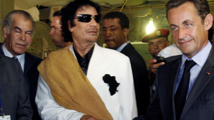 Sarkozy, sota custòdia policial pel finançament de la seva campanya del 2007