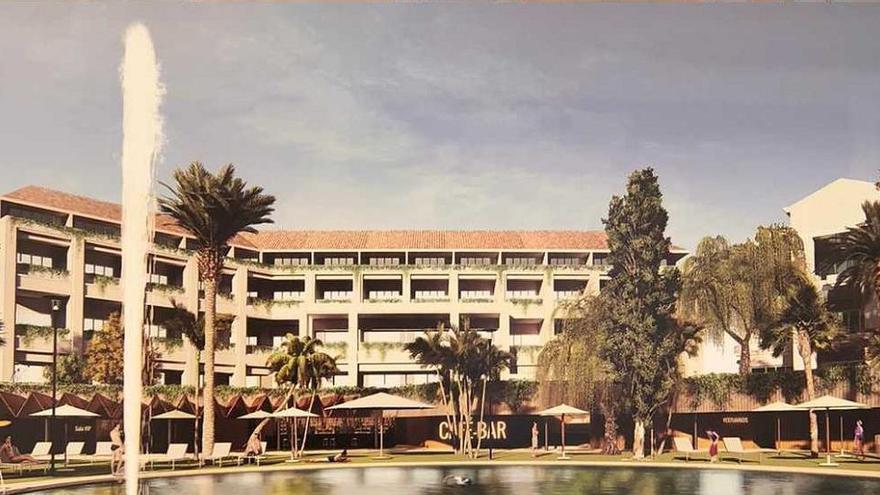 Casares contará con un cinco estrellas gran lujo de la cadena Hilton en 2022