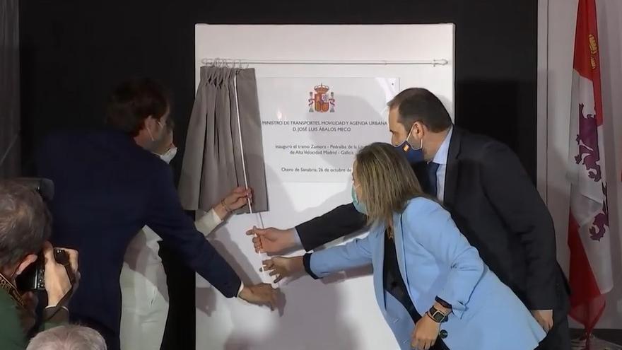 DIRECTO   Inauguración de la línea del AVE Zamora-Sanabria