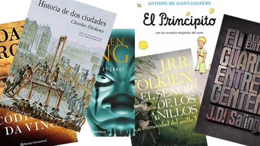 Los 10 libros más leídos y vendidos en el mundo