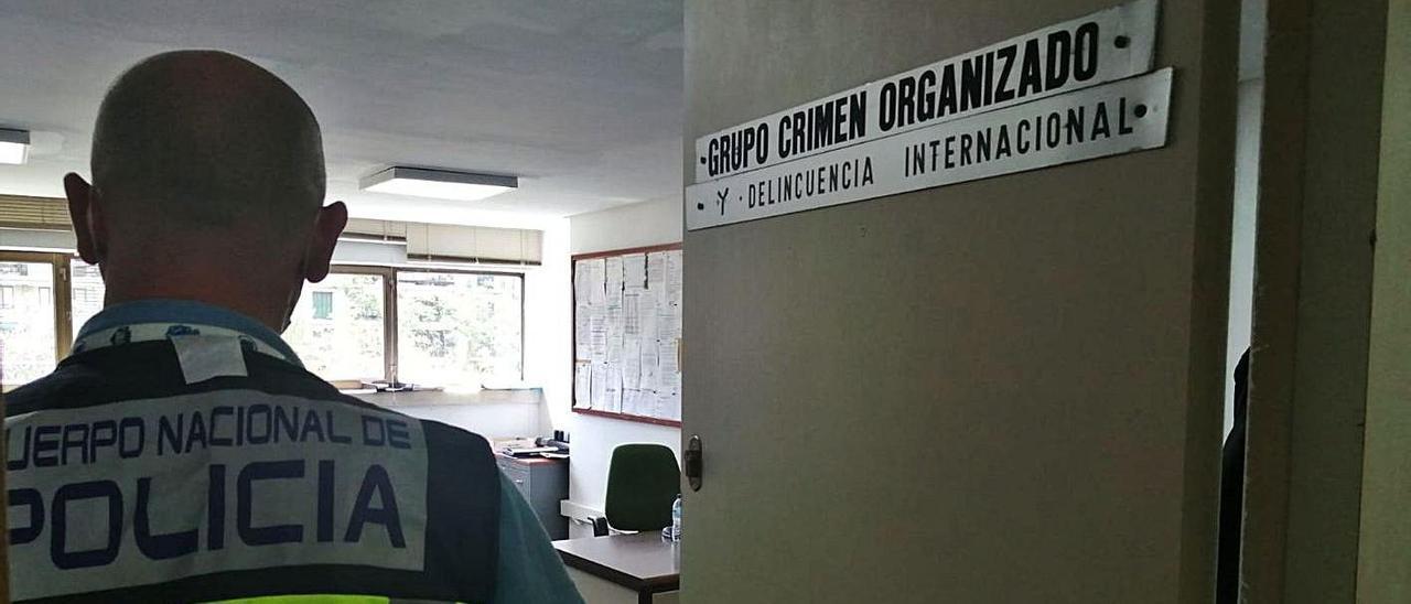 La prófuga francesa fue localizada por agentes del grupo de Delincuencia Internacional.