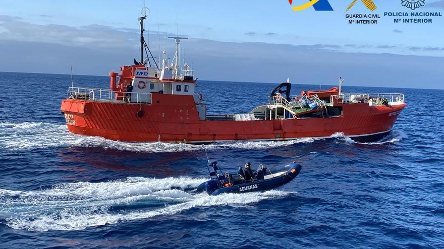 El pesquero Odyssey transportaba un alijo récord: 22 toneladas de hachís