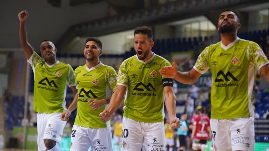 El Palma Futsal abre los play-offs con una goleada al Zaragoza
